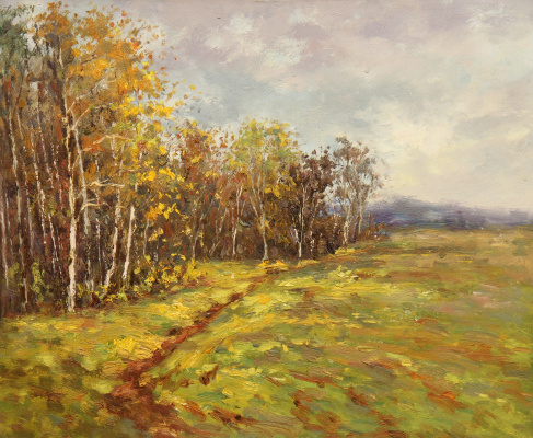 Andrey Sharabarin. Early autumn. Not far from Gremyachy key