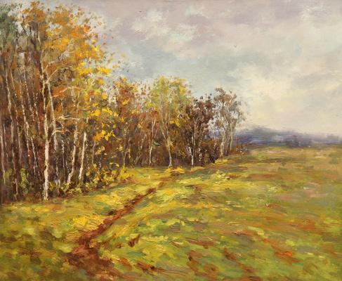 Andrey Sharabarin. Early autumn. Not far from Gremyachy key