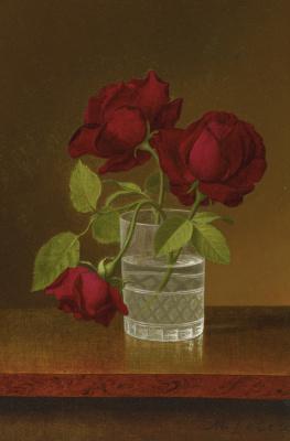 Мартин Джонсон Хед. Натюрморт с розами