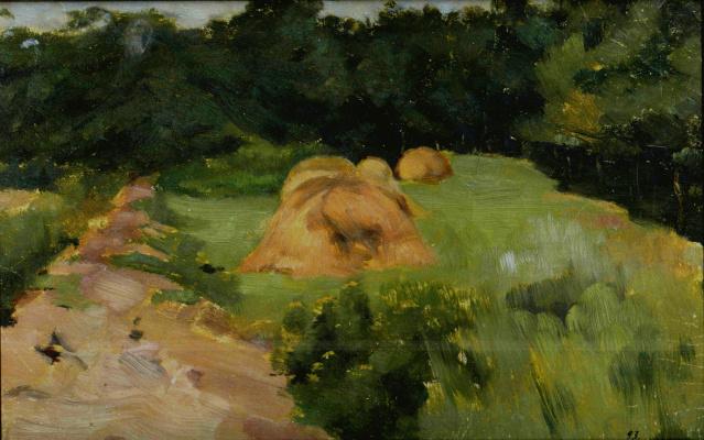 Евгений Иосифович Буковецкий. Summer Landscape