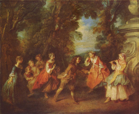 Nicolas Lancret. Concert in the Park
