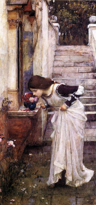 John William Waterhouse. Shrine