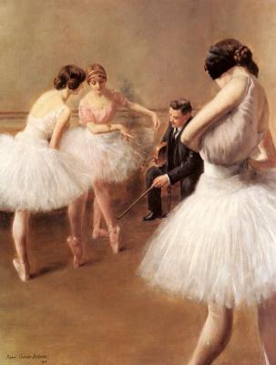 Пьер Карриер-Беллеус. Урок балета