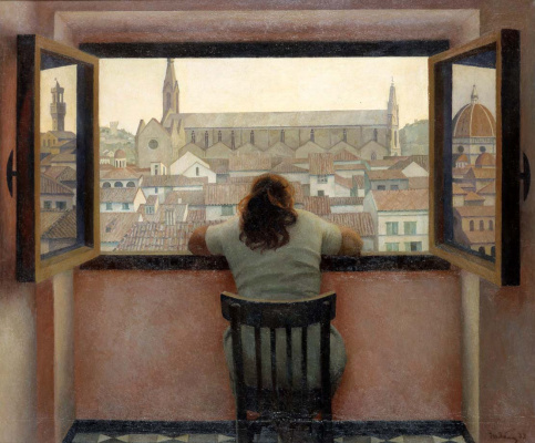 Tetyana Yablonska. Evening. Old Florence