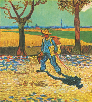 Vincent van Gogh. The artist on the road to Tarascon