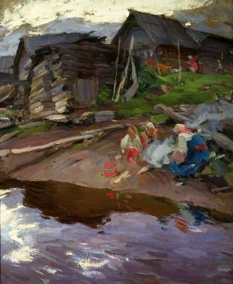 Abram Arkhipov. Evening