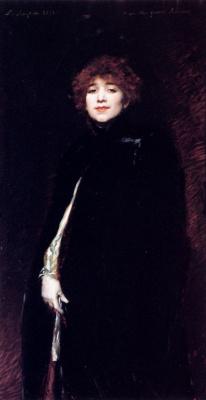 Фердинанд Ройбет. Дама в черном
