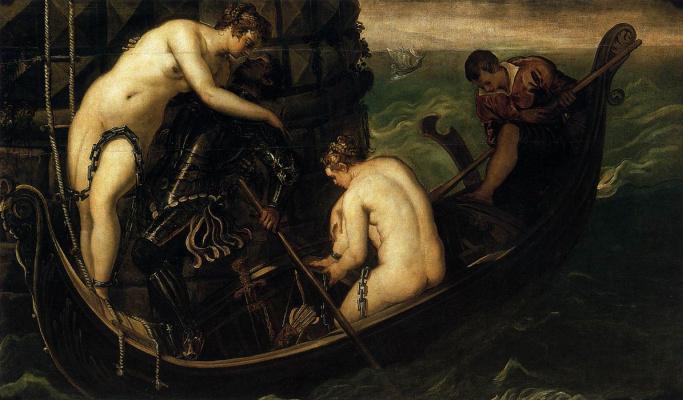 Jacopo (Robusti) Tintoretto. Salvation Arsinoe