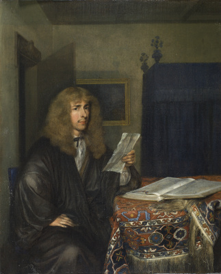 Gerard Terborch (ter Borch). Portrait of a Man reading a Document