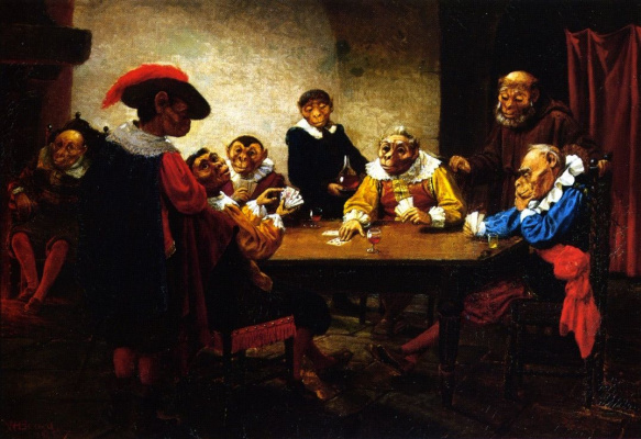 Уильям Холбрук Берд. Игра в покер