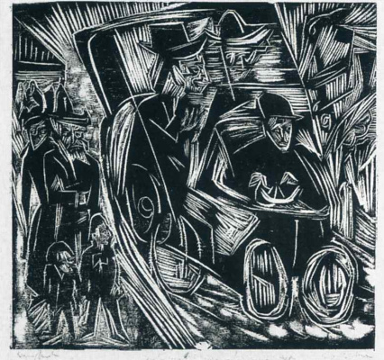 Ernst Ludwig Kirchner. Absalom