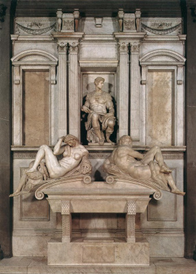 Michelangelo Buonarroti. Tomb Of Giuliano De ' Medici