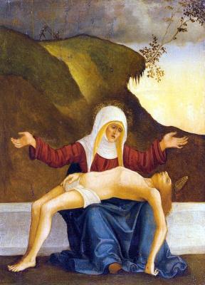 Людовико Маццолино. Оплакивание Христа