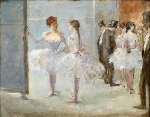 Jean-Louis Foren. Foyer Of The Opera