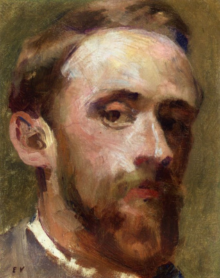 Jean Edouard Vuillard. Self-portrait