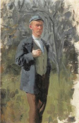 Иван Семенович Куликов. Портрет художника Б.М. Кустодиева. 1899