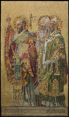 Луис Комфорт Тиффани. Отцы Церкви
