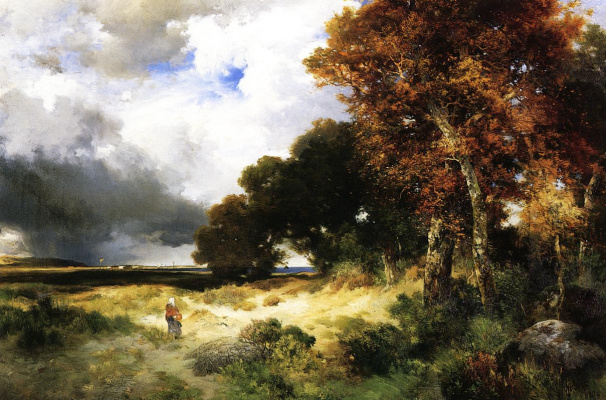 Thomas Moran. Forest