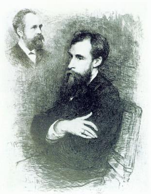 Vasily Vasilyevich Mate. Portrait Of P. M. Tretyakov