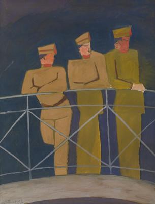 Леон Спиллиарт. Three Sailors (1926) Offa Gallery, Belgium