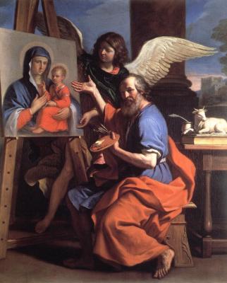 Джованни Франческо Гверчино. Святой Лука