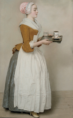 Jean-Etienne Liotard. The Chocolate Girl