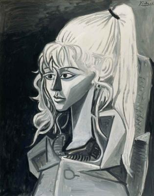 Pablo Picasso. Silvett