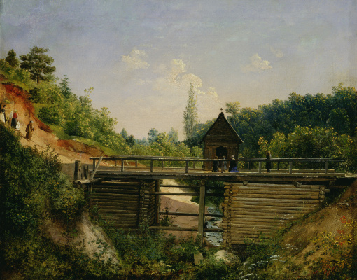Ivan Fomich (Trofimovich) Khrutsky. To the Holy place