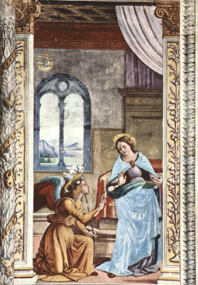 Domenico Girlandajo. The Annunciation