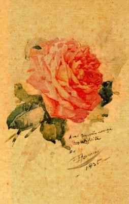 Франсиско Боннин. Красивая роза