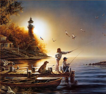 Терри Редлин. От моря до моря