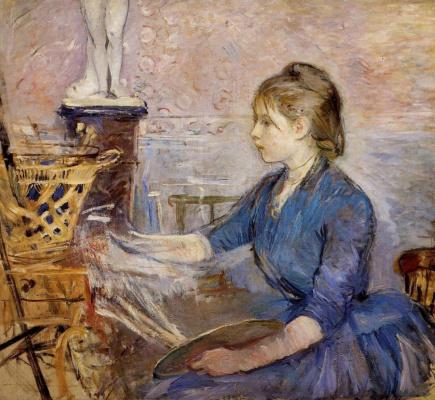 Berthe Morisot. Paul draws Gobear