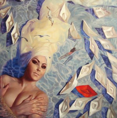 Lisa Ray. I dream of the sea