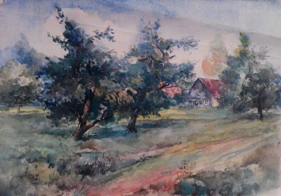 Владимир Кузьмич Ворохобин. Деревня