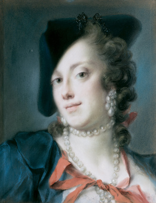 Rosalba Carriera (Carrera). Venetian from the house of Barbarigo