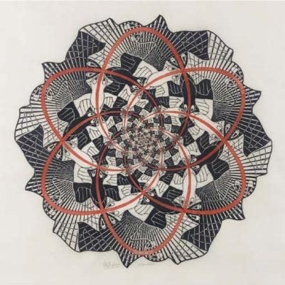 Maurits Cornelis Escher. Path of Life III