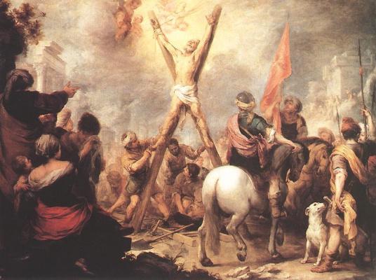 Bartolomé Esteban Murillo. The Martyrdom Of St. Andrew The Apostle