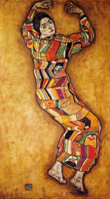 Egon Schiele. Portrait Of Mary Frederick Beer