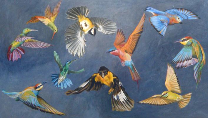 Polina Anatolyevna Kolddomasova. Birds