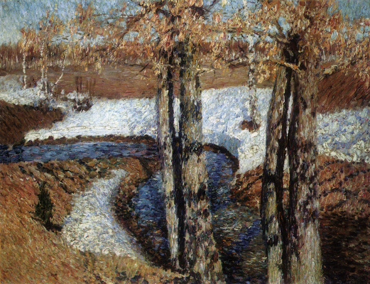 Igor Grabar. Spring Creek