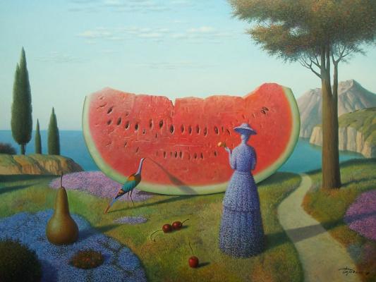 Evgeni (Eugene) Yakovlevich Gordiets (Gordian). Summer