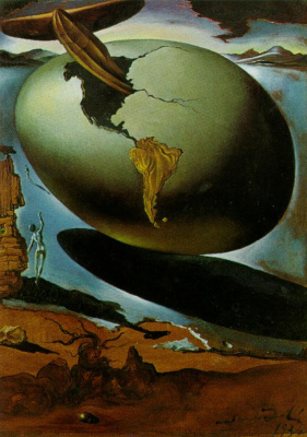 Salvador Dali. Allegory of an American Christmas