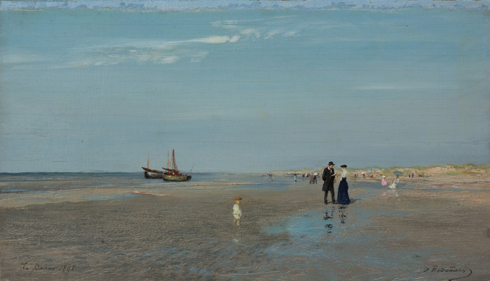 Иван Павлович Похитонов. La Panne. Beach