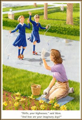 Ник Баскет. Американская девочка Молли. Четвертая книга о Молли 08