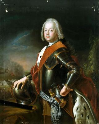 Антуан Пен. Портрет Христиана Августа Анхальт-Цербстского