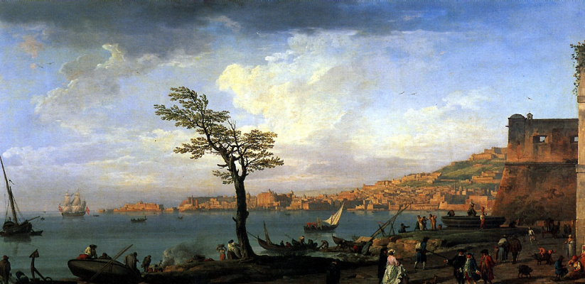 Claude Joseph Vernet. The view of the Bay of Naples