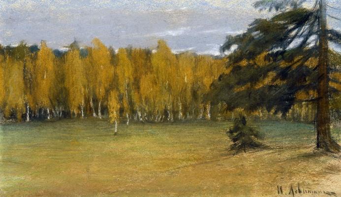 Isaac Levitan. Autumn landscape