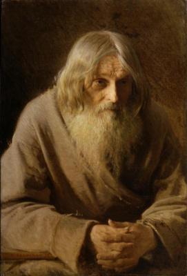Ivan Nikolayevich Kramskoy. Old peasant