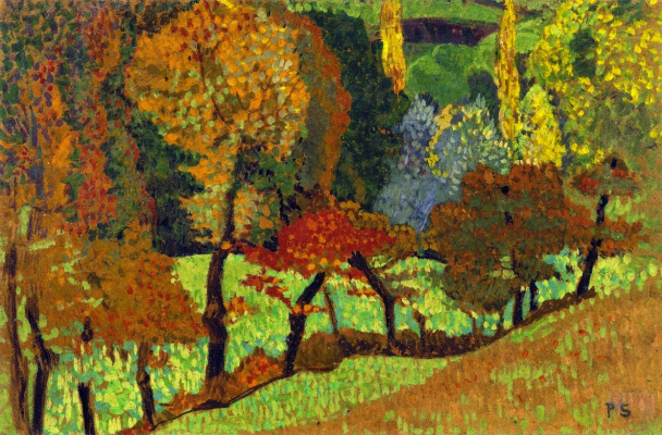 Paul Sérusier. Trees along the creek