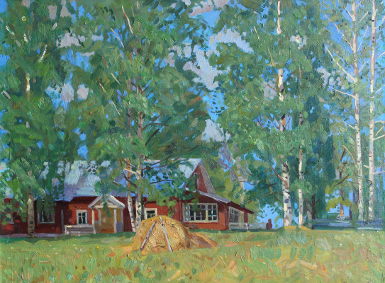 Eugene Alexandrovich Kazantsev. House of Artists Academic Dacha.